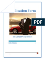 [Biz Career Conference] Application Form_ Vo Manh Hung