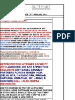 Copy of Softmart EndUser Pricelist