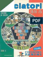 Edizioni.Panini.-.Campionato.1974.1975.- b484da1e9526f