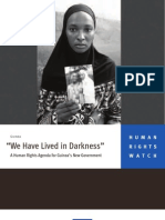 """""""We Have Lived in Darkness"""" 
