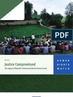 Justice Compromised | Rwanda