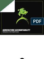 Agriculture Accountability