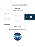 Organization Development and Change Management