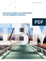 Business Analytics and Optimization for the Intelligent Enterprise (IBM NL)