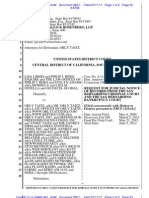 LIBERI v TAITZ (C.D. CA) - 280.1 - # 1 Supplement Request for Judicial Notice in Support of 12(b)(6) - 280.1