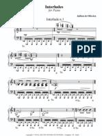 Interlude 1 for Piano