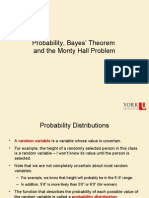 02 Probability, Bayes Theorem and the Monty Hall Problem