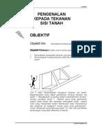 Unit 5 ( Pengenalan kpd tekanan sisi tanah )