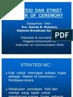 Strategi Dan Etiket Mc.