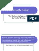 Understanding by Design Training