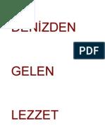 Denizden-Gelen-Lezzet Deniz ürünleri
