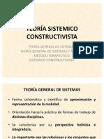 SISTÉMICO CONSTRUCTIVISTA