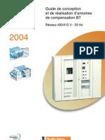 Guide de conception et de réalisation d'armoire de compensation BT - 2004