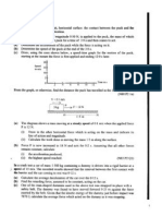 O Level Pure Physic Dynamics Revision Exercise