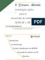 Desarrollo Agil SCRUM XP