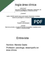 Psicologia Area Clinica[1]