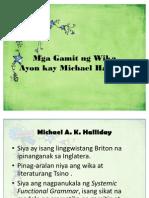 4. Mga Gamit Ng Wika Ayon Kay Michael Halliday