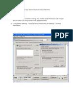 Installing SugarCRM CE SQL Server Stack on Virtual Machine