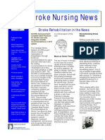 Stroke Nursing News Spring Summer 2011