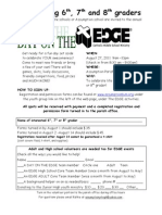 Day on the EDGE Flyer
