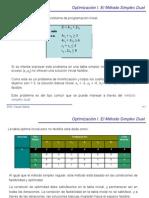 El método simplex dual