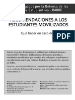 Instructivo Jurídico para Estudiantes Movilizados RADDE