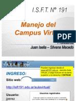 Para Utilizar Campus 191