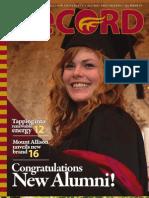 Mount Allison University -- The Record (Summer 2011)