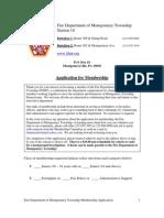 FDMT Membership Application