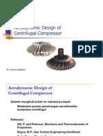 Aerodynamic Design of Centrifugal Compressor