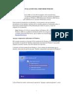 Manual de Instalacion Del Servidor Web Iis