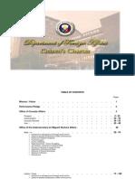 DFA Citizen's Charter - 23 July