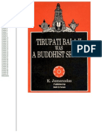 Tirupati Was a Buddhist Shrine