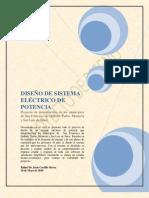 PROYECTO FINAL SISTEMA ELÉCTRICO DE POTENCIA