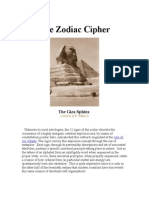 The Zodiac Cipher