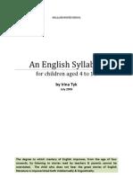 Primary English Curriculum