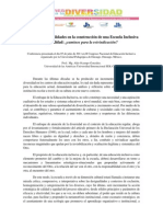 Publicación Diario Durango. Conferencia. Aldo Ocampo González