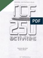 TCF 250 activités (120 pág)