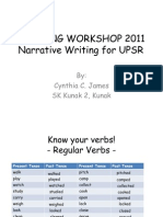 Narrative Writing for UPSR