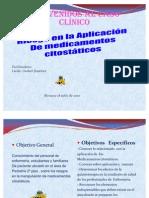 Caso Clinico Riesgo a La Aplicacion de Medic. Citostaticos Yoli