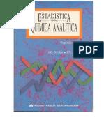 Estadistica para Quimica Analitica
