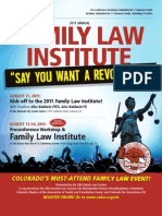 2011 Annual Family Law Institute