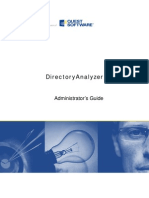 Directory Analyzer Admin Guide