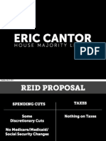 Eric Cantor July Slides