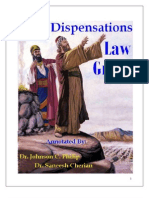 Dispensation Law Grace