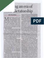 Semi Dictatorship