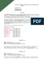 Malware Analysis CartellaUnicaTasse
