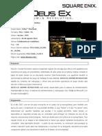 Deus Ex Human Revolution - informacion