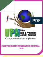 Cuarto Boletin Informativo de Uppaa-2010