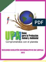 Segundo Boletin Informativo de Uppaa-2011
